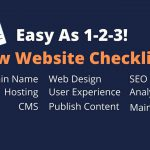 Easy As 1 2 3 New Website Checklist 2 150x150 - Homepage